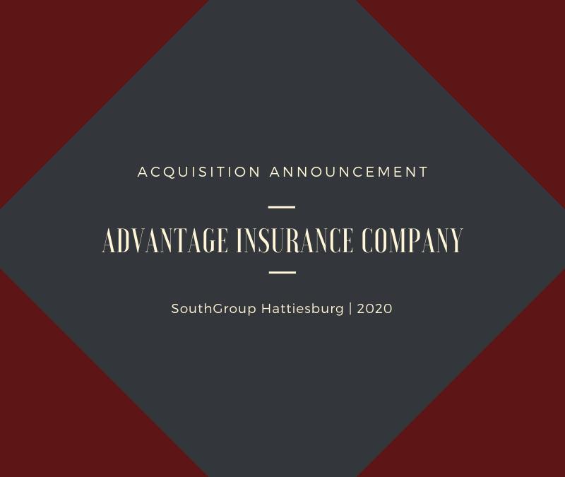Acquisition Announcement: Advantage Insurance Company