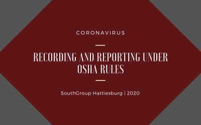 Coronavirus Recording and Reporting Under OSHA Rules